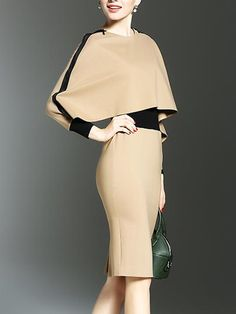 Two Way Color Block bodycon dress bodycon dress outfit bodycon dress formal bodycon dress casual bodycon dress homecoming Tight Dresses, Satin Dresses, Casual Dresses, Fitted Dresses, Cheap Dresses, Elegant Dresses, Women's Fashion Dresses, Dress Outfits, Ladies Dress Design