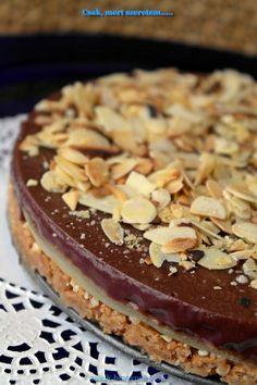 Csak, mert szeretem... kreatív gasztroblog: SZÁJBAN SZÉTROBBANÓ MARCIPÁNOS CSOKITORTA (SÜTÉS NÉLKÜL) Hungarian Recipes, Hungarian Food, Kid Friendly Meals, Tiramisu, Cake Recipes, Cheesecake, Food Porn, Pudding, Sweets
