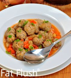 FAT FLUSH PLAN THEORY The goal of the Fat Flush Plan is to cleanse the liver. The liver is the main detoxifying organ in the body. According to the Fat Flush Plan the liver is also our premier fat-burning organ…Read more → Fat Flush Soup, Fat Flush Diet, Healthy Detox, Healthy Soup, Healthy Recipes, Soup Recipes, Healthy Liver, Fat Burning Soup, Clean Eating