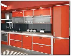 Hasil gambar untuk aluminum kitchen cabinets