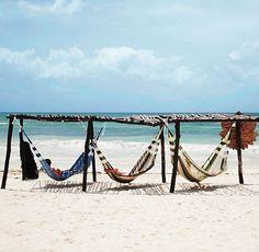 Multiple hammocks in one shot