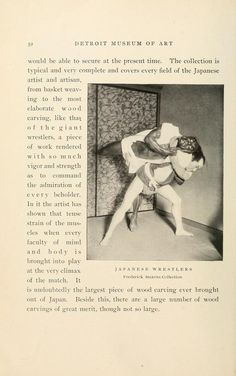Japanese wrestlers. A brief history of the Detroit Museum of Art and its collections  illustrated Published 1902 by [The Museum] in Detroit .
