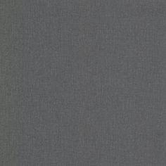 Albin Charcoal (Grey) Linen Texture Wallpaper Sample