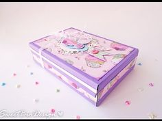 Sweet Bio design: Tutorial: Album in a Box - Scatola Album Mini Photo Albums, Mini Albums Scrap, How To Make Scrapbook, Mini Scrapbook Albums, Mini Album Tutorial, Diy School Supplies, Pop Up Cards, Diy Box, Mini Books