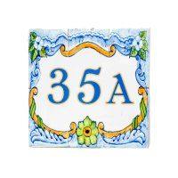 Square Designs » Exotic Ceramic Tiles Designs Ceramic Pottery, Ceramic Art, Plaque Design, Family Name Signs, Tile Murals, Portuguese Tiles, Moroccan Tiles, Tile Design, Cement Tiles