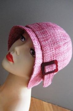 Cloche hat sewing pattern medium  Roaring 20s flapper by McHats, $15.95