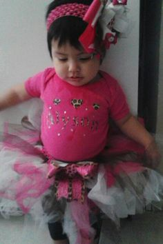 Pink tutu set $32 by Veronica Arreola , text 8064402716 to order.