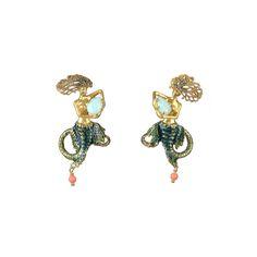 Les Néréides - Fond Marin Earrings