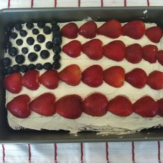 Savanna's 4th of July cake 2012