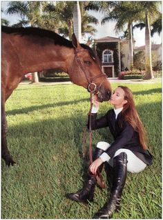 Town & Country: Equestrian Issue 2012 -- Georgina Bloomberg (Michael Bloomberg)