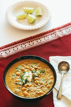 lentil, chickpea and quinoa soup