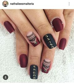 Nail Designs, Nail Art, Shapes, Nails, Makeup, Beauty, Nail Colors, Nail Bling, Nail Ideas