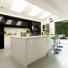 Modern kitchen extension | Open-plan kitchen ideas | housetohome.co.uk @ Home Improvement Ideas