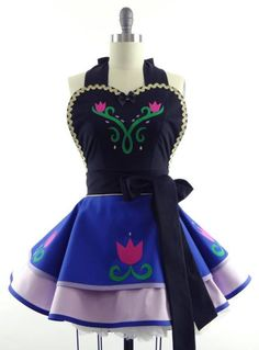 Princess Anna Inspired Apron