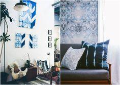 Design Trend: Shibori-Dyed Home Decor (http://blog.hgtv.com/design/2014/03/27/past-meets-present-to-dye-for/?soc=Pinterest)