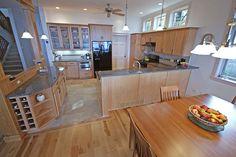 porcelain tile kitchen floor - Google Search