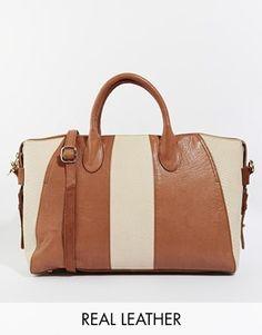 Urbancode Leather Tote Bag