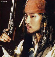 Kim Nam Gil 김남길 | Johnny Depp Look-Alike