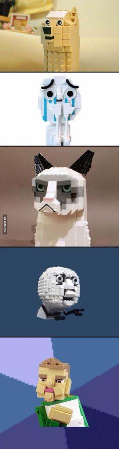 Lego version of memes.