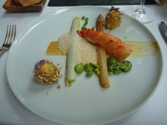 Dinner at two Michelin star restaurant Ron Blaauw 8th of June 2011