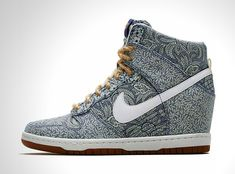 Nike x Liberty Summer 2014 collection adorned with timeless Liberty London floral prints l #sneakers