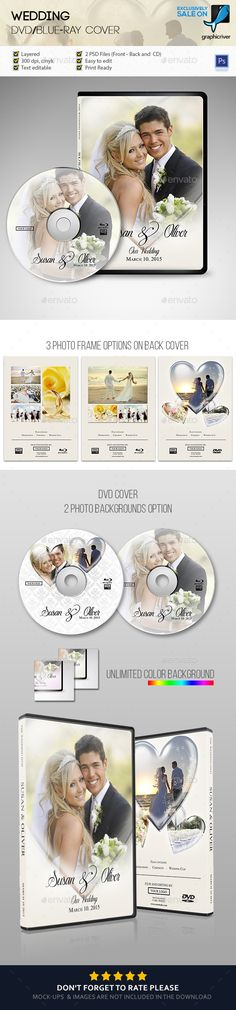 Wedding DVD Case Cover