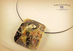 Indrani Handmade Modern Hippie, Polymer Clay Jewelry, Bracelets, Boho Chic, Pendant Necklace, Handmade, Fimo, Hand Made, Bracelet