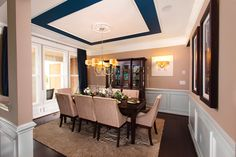 Van Metre Homes Portsmouth Model Interior Dining Room