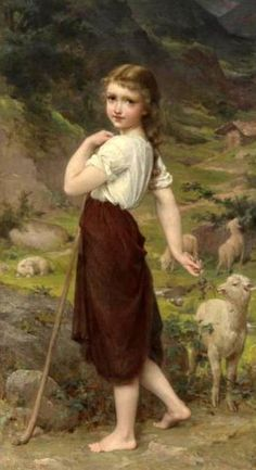 Emile Munier (1840 – 1895, French) Apparently it looks like me when I was little