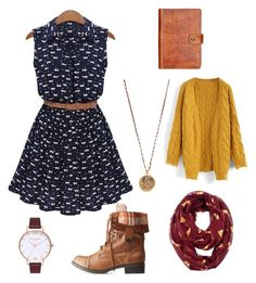 """""""Cosy and cute"""" by jenniebartle on Polyvore featuring Patricia Nash, WithChic, Native Gem, Charlotte Russe, Chicwish and Olivia Burton"""