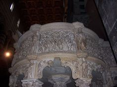 Detail of the Pulpit in the Duomo di Pisa