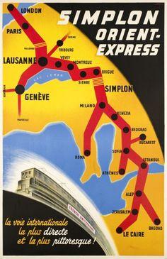 Simplon Orient-Express, la voie internationale la plus directe et la plus pittoresque