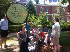 Once Upon A Nation Storytelling Benches King Of Prussia, Pennsylvania  #Kids #Events
