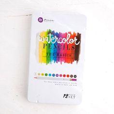 Prima Mixed Media Watercolor Pencils — The Basics
