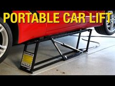 Portable Lift That Can Support Up to 7000 Pounds! QuickJack Car Lift - Eastwood - YouTube