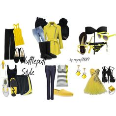 Hufflepuff Style, I think I'm going to get a whole set of Yellow and Black outfits for Ascendio.