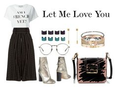 """Let Me Love You"" by anaelle2 ❤ liked on Polyvore featuring Isabel Marant, Être Cécile, J.W. Anderson, Linda Farrow, Lanvin, Cartier, Alexander McQueen, Balenciaga and Maison Margiela"