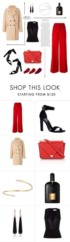 """Red #1"" by southernminimalist ❤ liked on Polyvore featuring Dolce&Gabbana, Yves Saint Laurent, Diane Von Furstenberg, Alexander Wang, Maison Margiela, Tom Ford, SUSAN FOSTER, Balenciaga, Ellis Faas and Fall"