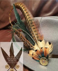 Feather Wreath, Feather Crafts, Feather Art, Feather Jewelry, Ammo Crafts, Diy Crafts Jewelry, Jewelry Art, Handmade Jewelry, Ammo Art