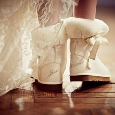 just married uggs