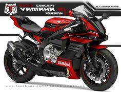TT BIGBIKE DESIGN: YAMAHA YZF R1 DESIGN CONCEPT #2 Yamaha Yzf R1, Yamaha Motorcycles, Moto Bike, Motorcycle Bike, Duke Bike, Motos Honda, Custom Sport Bikes, Sport Cars, Sport Sport