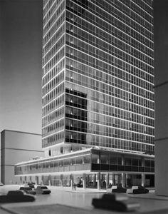Gordon Bunshaft uno de los ganadores del Premio Pritzker - Noticias de Arquitectura - Buscador de Arquitectura