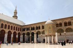 Omajjadenmoskee in Damascus. Foto: Marco in 't Veldt