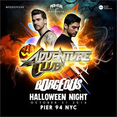 *ENTER to WIN*  *PIER of FEAR* WEEKEND Passes* FRI. OCT. 31 - HALLOWEEN -  w/ ADVENTURE CLUB & BORGEOUS  SAT. NOV. 1  w/ NICKY ROMERO & DIRTY SOUTH *CLICK to ENTER* ~> http://s.heyo.com/f508e0