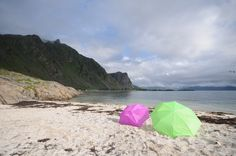 A rainy day can always become sunny. July, 2012 in Taen beach, Hadsel i Vesterålen, Norway. Photo:Marianne Lovise Strand