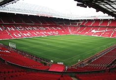 Old Trafford (The Theatre of Dreams) - home of Manchester United Football Club. http://www.visitmanchester.com/articles/attractions/manchester-united-.aspx