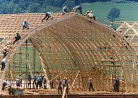 Barn Raising-to me this is such a testament of what people can do to help eachother...is a really neat thing to witness the Amish, because they are trying to live as the Bible instructs us to and this is the part that really speaks volumes to me. - check more here: http://ewoodworkingprojects.com/