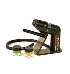 Kitchen science. very cool. I have no use for it, but you may? The Smoking Gun is a hand held food smoker. At $100 it won't break the bank and you'll look like you know what you're doing even when you don't. #food #gadget #awesome,