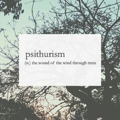 Love this phenomenon, never realized there was a word for it. It kind of sort of makes me excited for my first winter back in the Midwest.