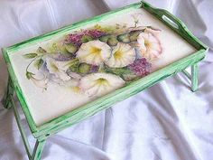 Parma, Tray, Interior, Floral, Home Decor, Trays, Green, Decoration Home, Indoor